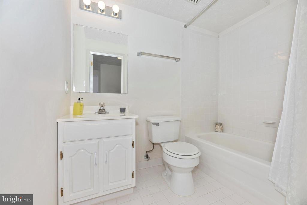 Lower level full bath. - 5835 RIVER OAKS CT, FREDERICK