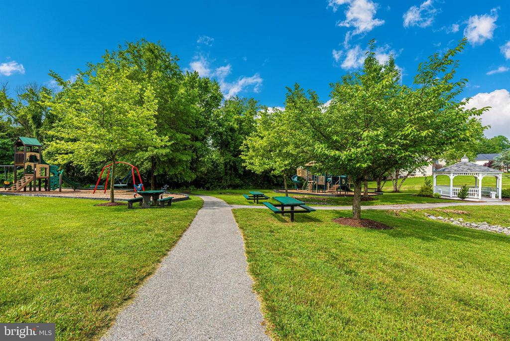Community parks and walking trails. - 5835 RIVER OAKS CT, FREDERICK