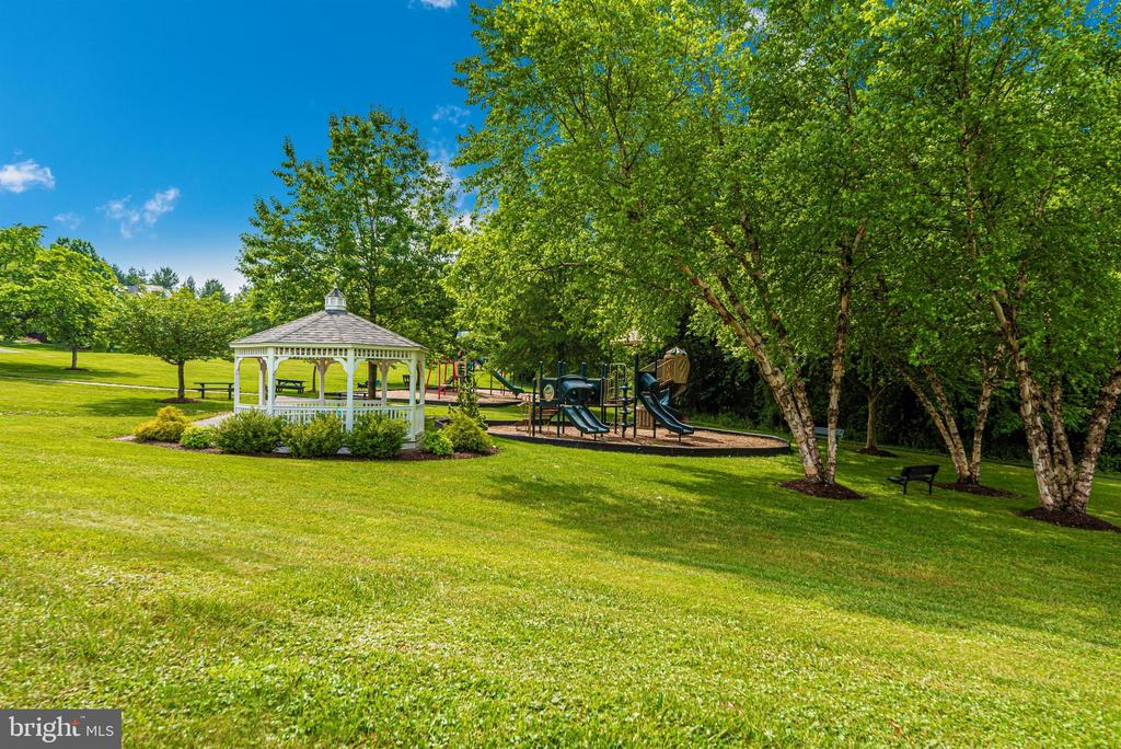 Community gazebo and playground. - 5835 RIVER OAKS CT, FREDERICK