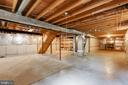 Unfinished Basement w rough in and sump pump! - 15138 HOLLEYSIDE DR, DUMFRIES