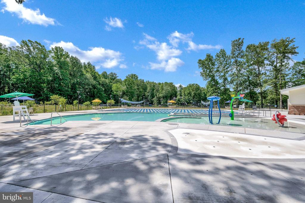 Another Pool Shot - 109 INDIAN HILLS RD, LOCUST GROVE