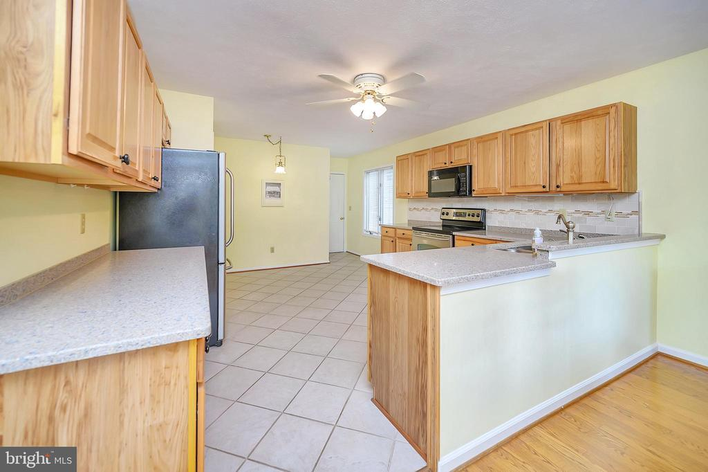 View of Kitchen from Dining Area - 109 INDIAN HILLS RD, LOCUST GROVE