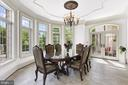 Luminous Breakfast Room w/ Pool Access - 8334 ALVORD ST, MCLEAN