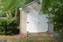 Side entrance to shed - 358 SUGARLAND MEADOW DR, HERNDON