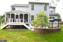 Ext back, screen porch, patio, deck and egress. - 358 SUGARLAND MEADOW DR, HERNDON