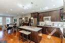 Open concept kitchen - 1011 N KENSINGTON ST, ARLINGTON
