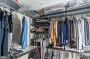 Master closet all built in - 1011 N KENSINGTON ST, ARLINGTON