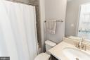 Second full bath - 1011 N KENSINGTON ST, ARLINGTON