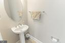 Half bath - 1011 N KENSINGTON ST, ARLINGTON