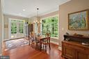 Breakfast area - 230 MASONS LN SE, LEESBURG
