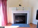 Fireplace in Living Room - 44315 STABLEFORD SQ, ASHBURN