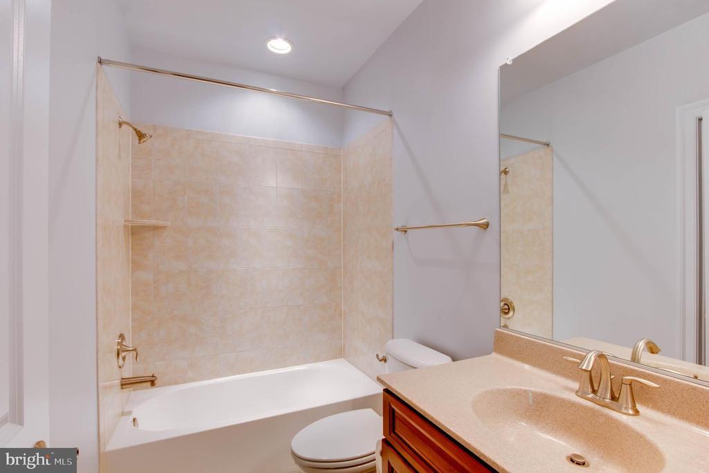 Full-bath  lower level - 9600 THISTLE RIDGE LN, VIENNA