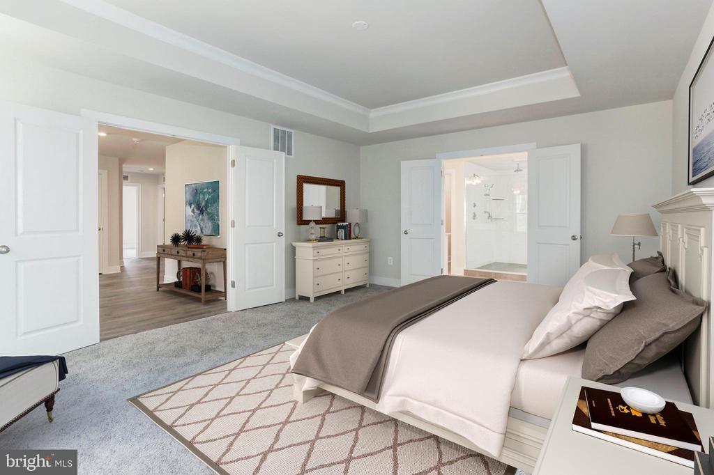 Master Bedroom - 7890 MEADOWLARK GLEN RD, DUMFRIES
