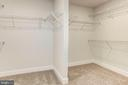 Walk-in closet - 7890 MEADOWLARK GLEN RD, DUMFRIES