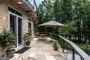 1 of 2 balconies spanning  entire length of home - 8205 ASHY PETRAL CT, SPOTSYLVANIA