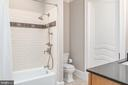 Full bath - 8205 ASHY PETRAL CT, SPOTSYLVANIA