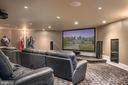 Perfect theatre  room - 8205 ASHY PETRAL CT, SPOTSYLVANIA
