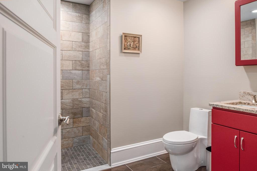 Full bath on lower level - 8205 ASHY PETRAL CT, SPOTSYLVANIA