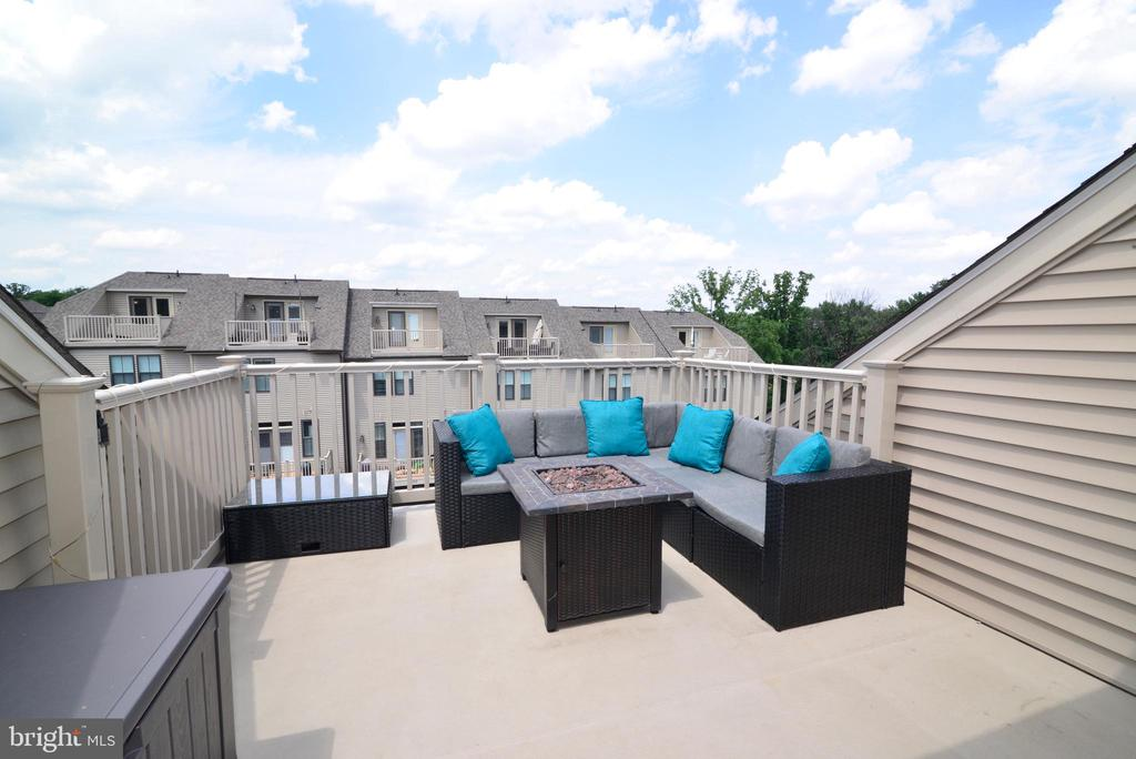 Rooftop deck - 6157 CAREY PARK LN, FALLS CHURCH