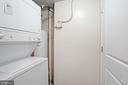Stackable Washer and Dryer - 880 N POLLARD ST #701, ARLINGTON