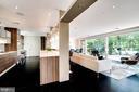 Open floor plan and floor to ceiling windows - 3004 CUNNINGHAM DR, ALEXANDRIA