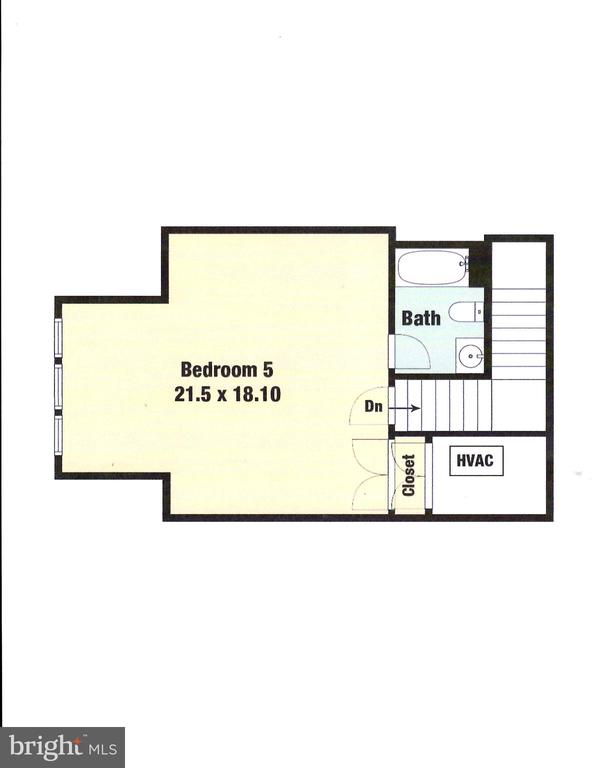 Loft Level Floor Plan - 9600 THISTLE RIDGE LN, VIENNA