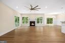 Oversized ceiling fan - 133 HARRISON CIR, LOCUST GROVE