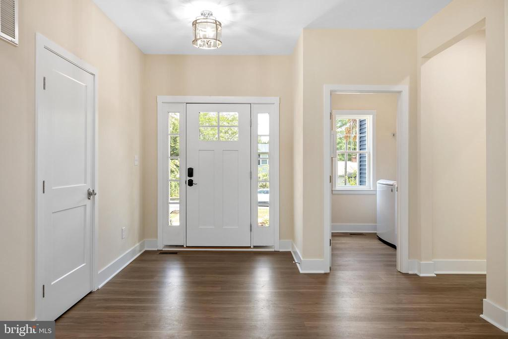 Craftsman style doors & Lighting - 133 HARRISON CIR, LOCUST GROVE
