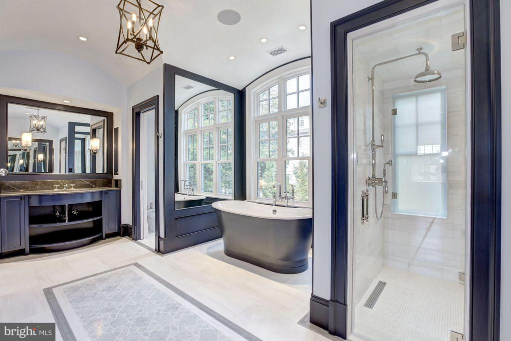 Master bathroom - 5205 LAWN WAY, CHEVY CHASE