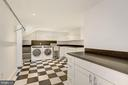 Lower level laundry room - 5205 LAWN WAY, CHEVY CHASE