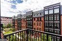Balcony off main floor - 1610 N QUEEN ST #245, ARLINGTON