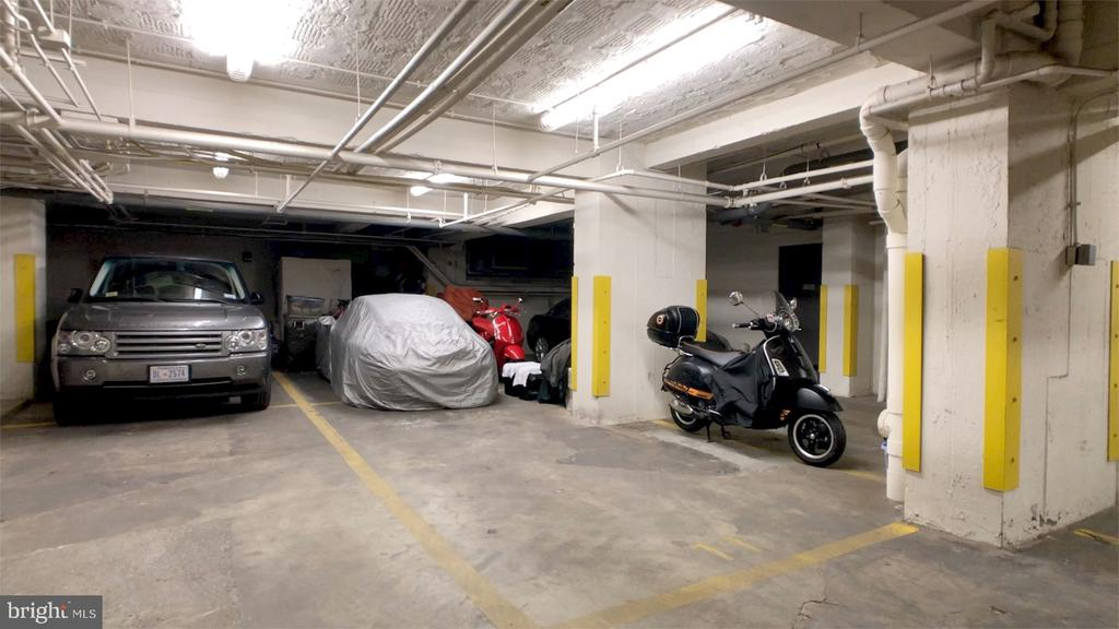 2 tandem parking spaces - 916 G ST NW #1004, WASHINGTON