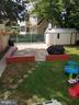 Rear yard - 4912 ARKANSAS AVE NW, WASHINGTON
