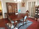 Dining room - 4912 ARKANSAS AVE NW, WASHINGTON