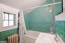 Upstairs Full Bath - 1309 N GLEBE RD, ARLINGTON