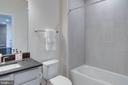 Chic full bathroom - 43091 WYNRIDGE DR #301, BROADLANDS