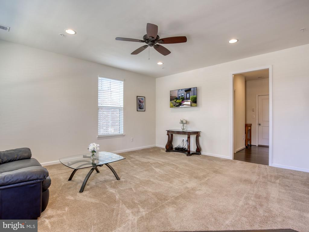 Lower level rec room or office - 43409 SOUTHLAND ST, ASHBURN