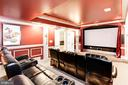 Home Theater - 432 SPRINGVALE RD, GREAT FALLS