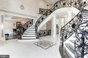 Main Staircase - 432 SPRINGVALE RD, GREAT FALLS
