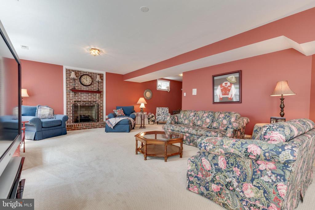 Lower Level with 2nd Fireplace - 38235 MILLSTONE DR, PURCELLVILLE