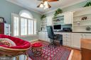 Office with Built-in Cabinets - 38235 MILLSTONE DR, PURCELLVILLE