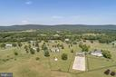 Aerial View - Fully Fenced with Blackboard Fencing - 38235 MILLSTONE DR, PURCELLVILLE