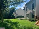 Rear with neighbor's house - 13388 CABALLERO WAY, CLIFTON