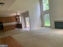 Kitchen open to family room - 13388 CABALLERO WAY, CLIFTON