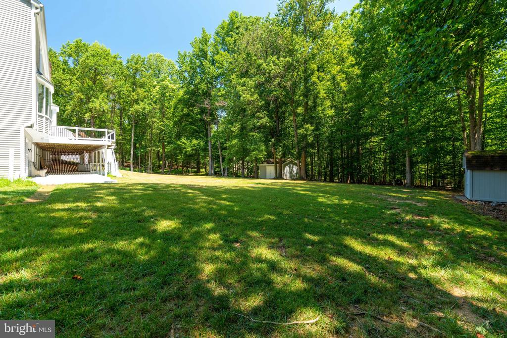 Mature trees for privacy - 11112 HAMPTON RD, FAIRFAX STATION