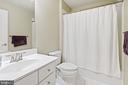Lower Level Bathroom - 44380 FOXTHOM TER, ASHBURN