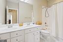 Upper Level Hall Bathroom - 44380 FOXTHOM TER, ASHBURN