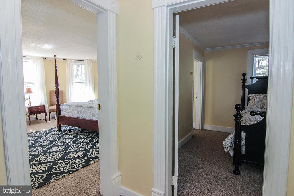 View of the front Bedrooms from the hallway. - 4106 CRITTENDEN ST, HYATTSVILLE