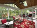 Amazing screened porch - 6411 SPRINGHOUSE CIR, CLIFTON