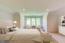 Virtually Staged  4th Level Bedroom - 9600 THISTLE RIDGE LN, VIENNA